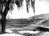Picture relating to Acton - titled 'Lennox Crossing over Molonglo River and Acton Offices'