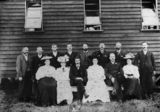 Picture relating to Kingaroy - titled 'Group portrait of the Kingaroy Methodist Church congregation, ca. 1908'