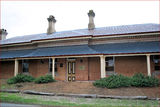 Picture relating to Binalong - titled 'Old Binalong Railway Station Building - Binalong - NSW'