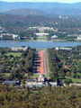 Picture relating to Canberra - titled 'Anzac Parade'