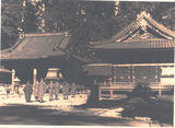 Picture relating to Brisbane - titled 'Brisbane B.C.O.F. Soldiers outside Shinto Temples - 1946'