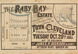 Picture of / about 'Raby Bay' Queensland - Estate map of Raby Bay Estate, Raby Bay, Queensland, 1885