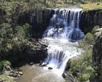 Picture relating to Ebor Falls - titled 'Upper Falls on the Guy Fawkes River at Ebor'