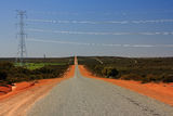 Picture relating to Eneabba - titled 'Sun on the Wire : Eneabba WA'