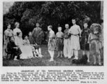 Picture relating to Townsville - titled 'Students from Townsville Grammar School performing A Midsummer Night's Dream, 1907'
