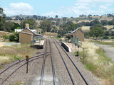 Picture relating to Gunning - titled 'Gunning Railway Station'