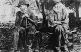 Picture relating to Murray Upper - titled 'Two old timers in the Murray Upper district, Queensland'