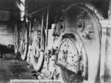 Picture relating to Collinsville - titled 'Boilers at Bowen Consolidated Coal Mines, Collinsville, ca. 1920'