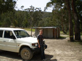 Picture relating to Goodradigbee River - titled 'Goodradigbee River McIntyres Hut'