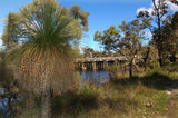 Picture relating to Frankland River - titled 'Frankland River & Bridge'