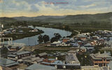 Picture relating to Tweed River - titled 'Tweed River at Murwillumbah, New South Wales, ca. 1911'