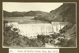 Picture relating to Mount Isa - titled 'Rifle Creek Dam, Mt. Isa, 1932'