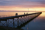 Picture relating to Ceduna - titled 'Ceduna Sunset. '