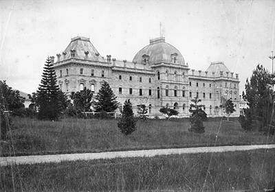 Picture of / about 'Brisbane' Queensland - Parliament House, Brisbane, ca. 1870