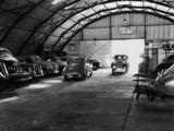 Picture relating to Ipswich - titled 'Interior of C. E. Thorne & Co. Garage, Ipswich, ca. 1950'