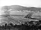 Picture relating to Black Mountain - titled 'View from Mt Ainslie towards Black Mountain - Haig Park to right'
