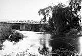 Picture relating to Molonglo River - titled 'Commonwealth Avenue Bridge over Molonglo River'