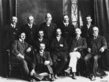 Picture relating to Ipswich - titled 'Councillors from the Moreton Shire Council, Queensland'