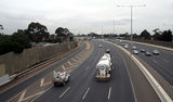 Picture relating to Princes Freeway - titled 'Princes Freeway at Laverton.'