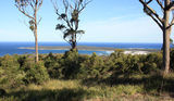 Picture relating to Binalong Bay - titled 'View to St Helens Point from Humbug Hill'