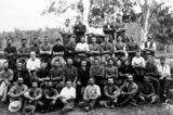 Picture relating to Canungra - titled 'Workers at Lahey's Mill, Canungra, ca. 1908'