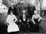 Picture relating to Emerald - titled 'Hicks family of mother and her four sons, Emerald'