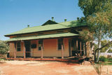 Meekatharra The Court House dating from the early 1900s, long abandoned but in the process of restoration.
