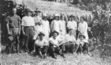 Picture relating to Bedarra Island - titled 'Bedarra Island personalities, ca. 1935'