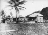 Picture relating to Yarrabah - titled 'Houses at Yarrabah, ca.1912'