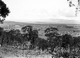 Picture relating to Ainslie - titled 'View of Reid and Old Parliament House from Mt Ainslie'