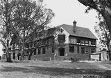Picture relating to Deakin - titled 'St. Gabriels Church of England Girls Grammar School, Melbourne Avenue, Deakin.'