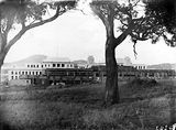 Picture of / about 'Parliament House' the Australian Capital Territory - Old Parliament House under construction, from south west.