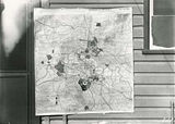 Picture relating to Canberra - titled 'Photograph of plan 103B of Canberra and Environs by Walter Burley Griffin'