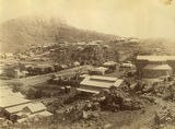 Picture relating to Townsville - titled 'Townsville below Castle Hill, ca. 1890'