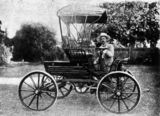 Picture relating to Toowoomba - titled '1902 Trevethan, the first car made in Queensland.'