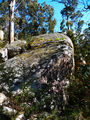 Picture relating to Square Rock - titled 'Square Rock - impressive boulders'