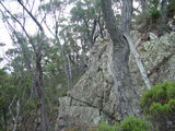 Picture relating to Mount Imlay - titled 'Mount Imlay Rock Formations'