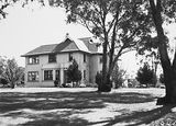 Picture of / about 'Canberra' the Australian Capital Territory - Canberra House, occupied by Sir John Butters, Director of the Federal Capital Commission.