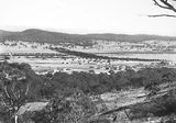Picture relating to Ainslie - titled 'Haig Park and Braddon from the slopes of Mt Ainslie'