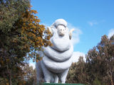 Picture relating to Wagin - titled 'Wagin Giant Ram'