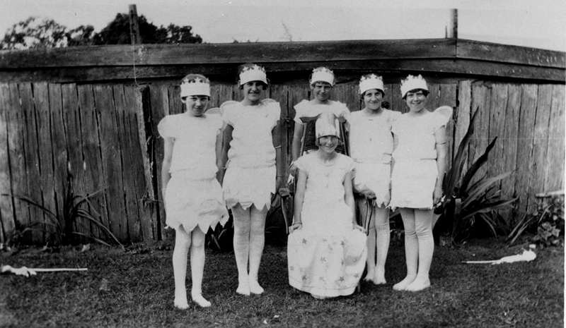 Picture of / about 'Sandgate' Queensland - Young women in fancy dress at Sandgate, Brisbane