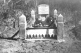 Picture relating to Wonglepong - titled 'Artist Edwin Bode's grave at Wonglepong'