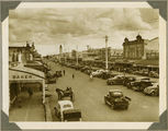 Picture relating to Bundaberg - titled 'Bustling main street of Bundaberg, ca. 1930'