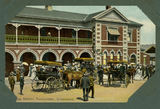 Picture relating to Toowoomba - titled 'Hustle and bustle at the Toowoomba Railway Station'