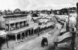 Picture relating to Gympie - titled 'View of Mary Street, Gympie, Queensland, ca. 1910'