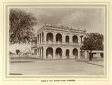 Picture relating to Bundaberg - titled 'School of Arts building in Bourbon Street, Bundaberg, ca. 1905'