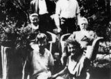 Picture relating to Wooloowin - titled 'Judkins family at Wooloowin'