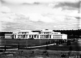 Picture relating to Parliament House - titled 'Old Parliament House from the north'