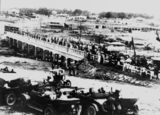 Picture relating to Stanthorpe - titled 'Panoramic view of the opening of the Carnarvon Bridge, Stanthorpe, 1922'