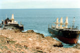 Picture relating to MV Korean Star Wreck - titled 'MV Korean Star Wreck'